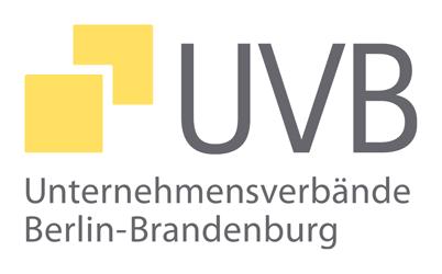 Logo UVB - Unternehmensverbände Berlin-Brandenburg